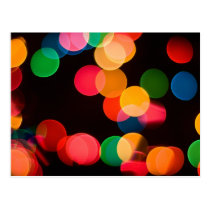 Christmas Lights Postcard