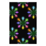 Christmas Lights Scrapbooking Papers Stationery Paper