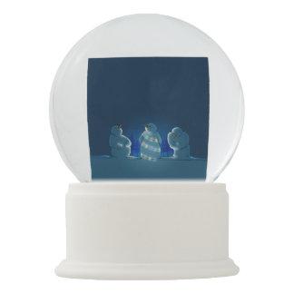 Christmas Lights Snow Globe