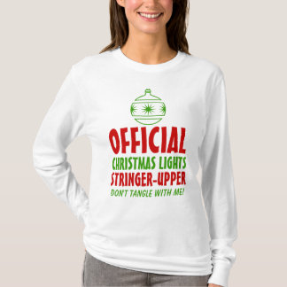 Christmas Lights Stringer Upper T-Shirt