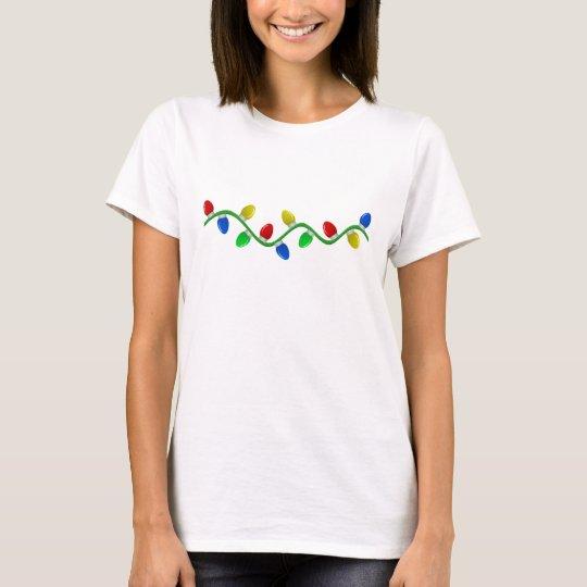 Christmas lights T-Shirt