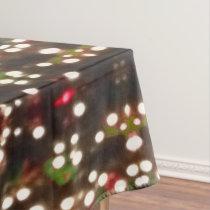 Christmas Lights Tablecloth