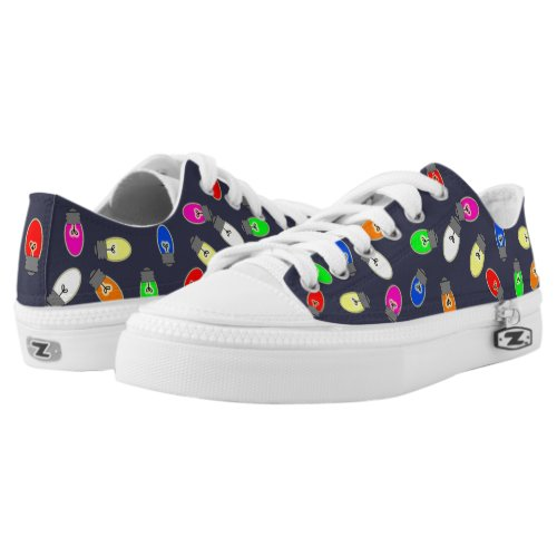 Christmas Lights Unisex Holiday Sneakers