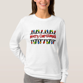 Christmas Lights Women's Long-Sleeved T-Shirt
