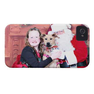 Christmas - Lillie - Pitbull X iPhone 4 Cover