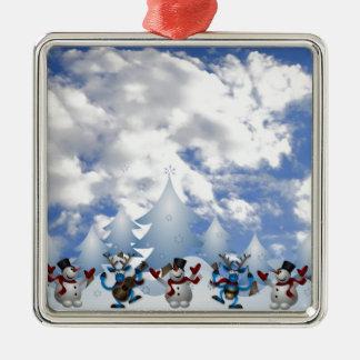 Christmas Line Dance Ornament