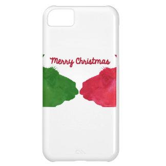 Christmas Llama Red Christmas Llama Green2 iPhone 5C Cases