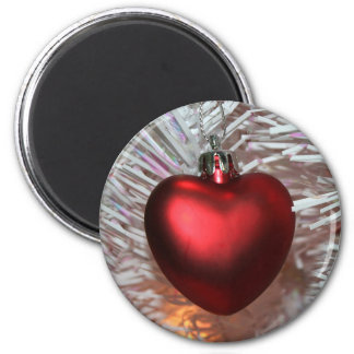 Christmas love 2 inch round magnet