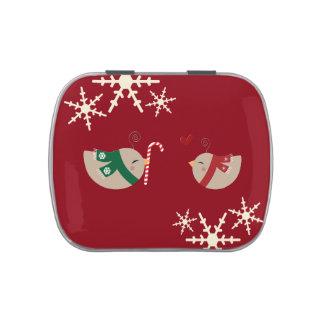 Christmas Love Birds Jelly Belly Tins