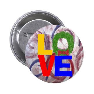 Christmas love button