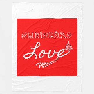 Christmas Love Fleece Blanket