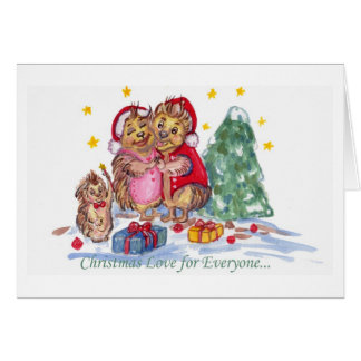 Christmas Love for Everyone Greeting Card