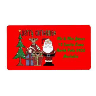 Christmas Love Label
