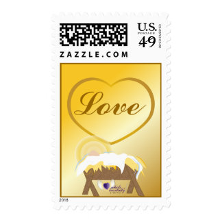 Christmas Love-Postage-Customize Stamps