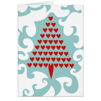Christmas Love Tree Holiday Card