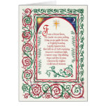 Christmas ~ Lovely Eastern Star Greeting Cards