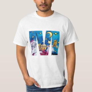 CHRISTMAS M LETTER / INSPIRED SANTA MONOGRAM T-Shirt