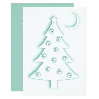 Christmas Macabre Tree Card