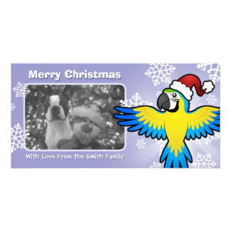 Christmas Macaw / Parrot Card
