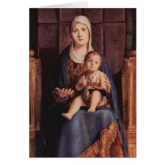 Christmas - Madonna & Child Antonello da Messina Card