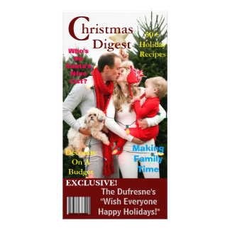 Christmas Magazine Cover Template