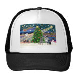 Christmas Magic Australian Cattle Dogs (two) Trucker Hat