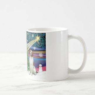 Christmas Magic Brittany Spaniel Classic White Coffee Mug