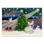 Christmas Magic French Bulldog 1 Card