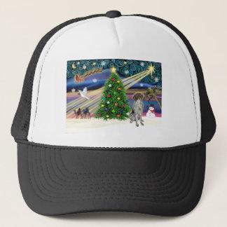 Christmas Magic German Short Haired Pointer Trucker Hat