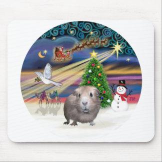 Christmas Magic - Guinea Pig #1 Mouse Pads