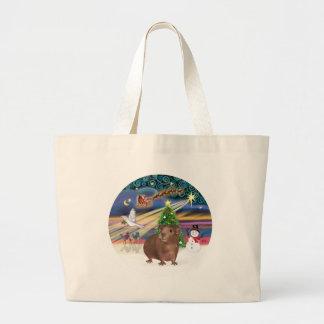 Christmas Magic - Guinea Pig #3 Jumbo Tote Bag