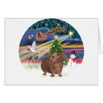 Christmas Magic - Guinea Pig #3 Card