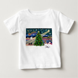Christmas Magic Jack Russell Terrier 7 Baby T-Shirt