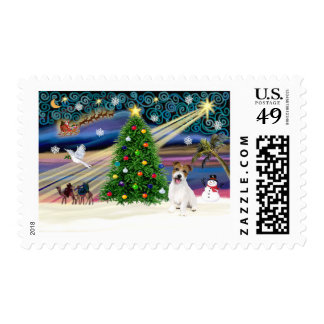 Christmas Magic Jack Russell Terrier Puppy Postage