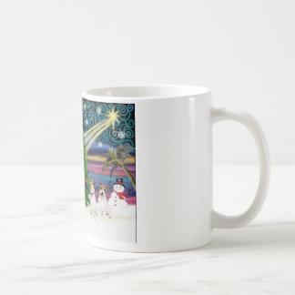 Christmas Magic Jack Russell Terrier (two) Coffee Mug