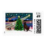 Christmas Magic Labrador Retriever (C) Postage