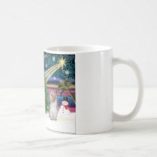 Christmas Magic Petit Basset 3 Coffee Mug