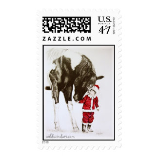 Christmas Magic Postage Stamp