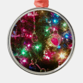 Christmas Magic Premium Round Ornament