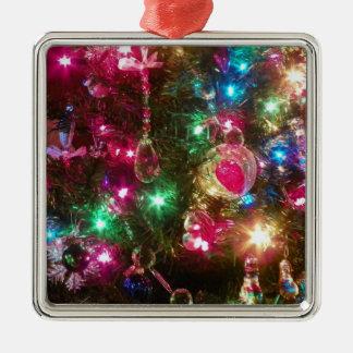 Christmas Magic Premium Square Ornament