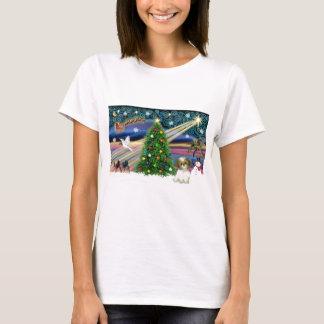 Christmas Magic Shih Tzu Puppy T-Shirt