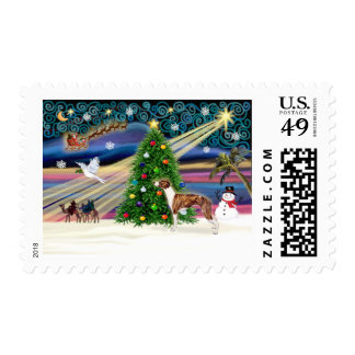 Christmas Magic Whippet 1 Postage