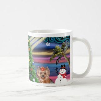 Christmas Magic - Yorkshire Terrier 6 Mug