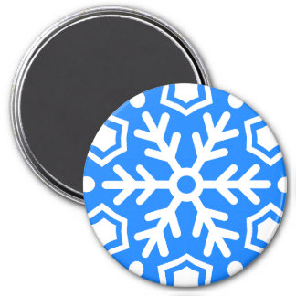 Christmas magnet round