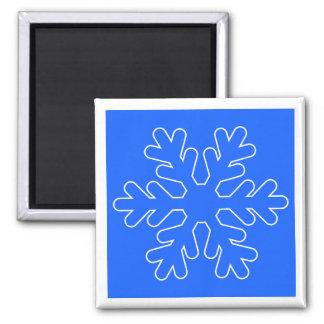 Christmas magnet square