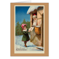 """Christmas Mail"" Christmas Card at Zazzle"