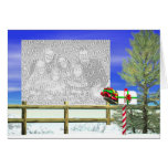 Christmas Mail (photo frame) Greeting Cards