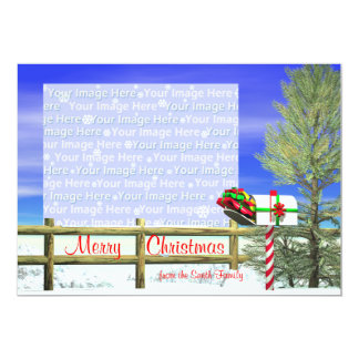 Christmas Mailbox Photo Card