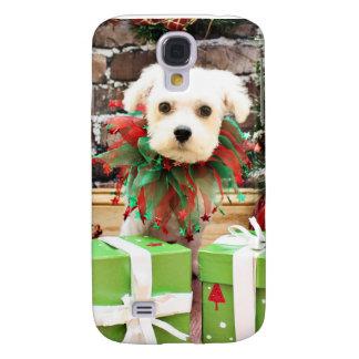 Christmas - Maltese - Ajax Galaxy S4 Case