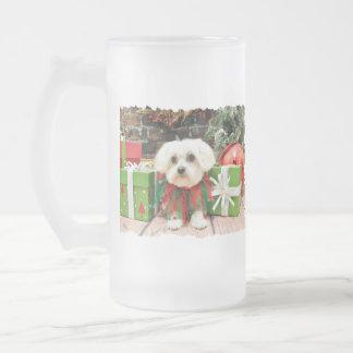 Christmas - Maltese - Annie Coffee Mug